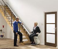 Krzesełko HomeGlide jest dostępne od ręki