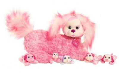 Собака Мати с щенками