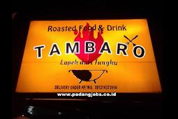 Lowongan Kerja Padang: Tambaro Roasted Food & Drink November 2018