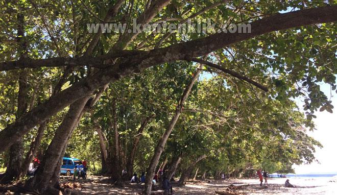 Maluku Saparua Wisata Pantai Pasir Putih Kulur yang Indah