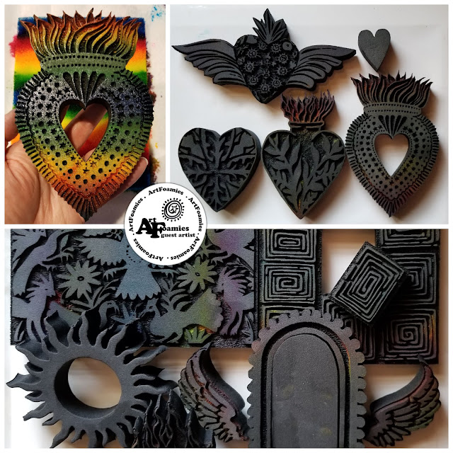 Kae Pea art & patron comMOONity, RubberMoon and ArtFoamies