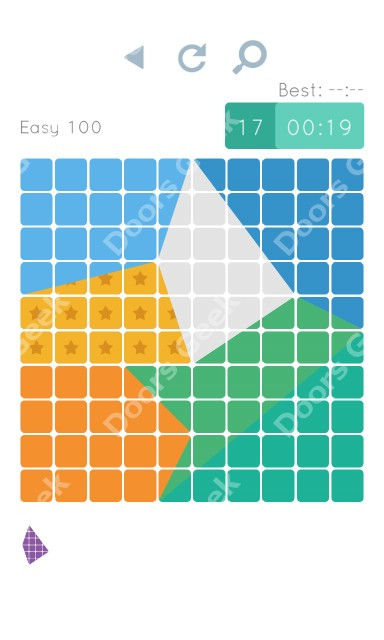 Cheats, Walkthrough for Blocks and Shapes Level 100