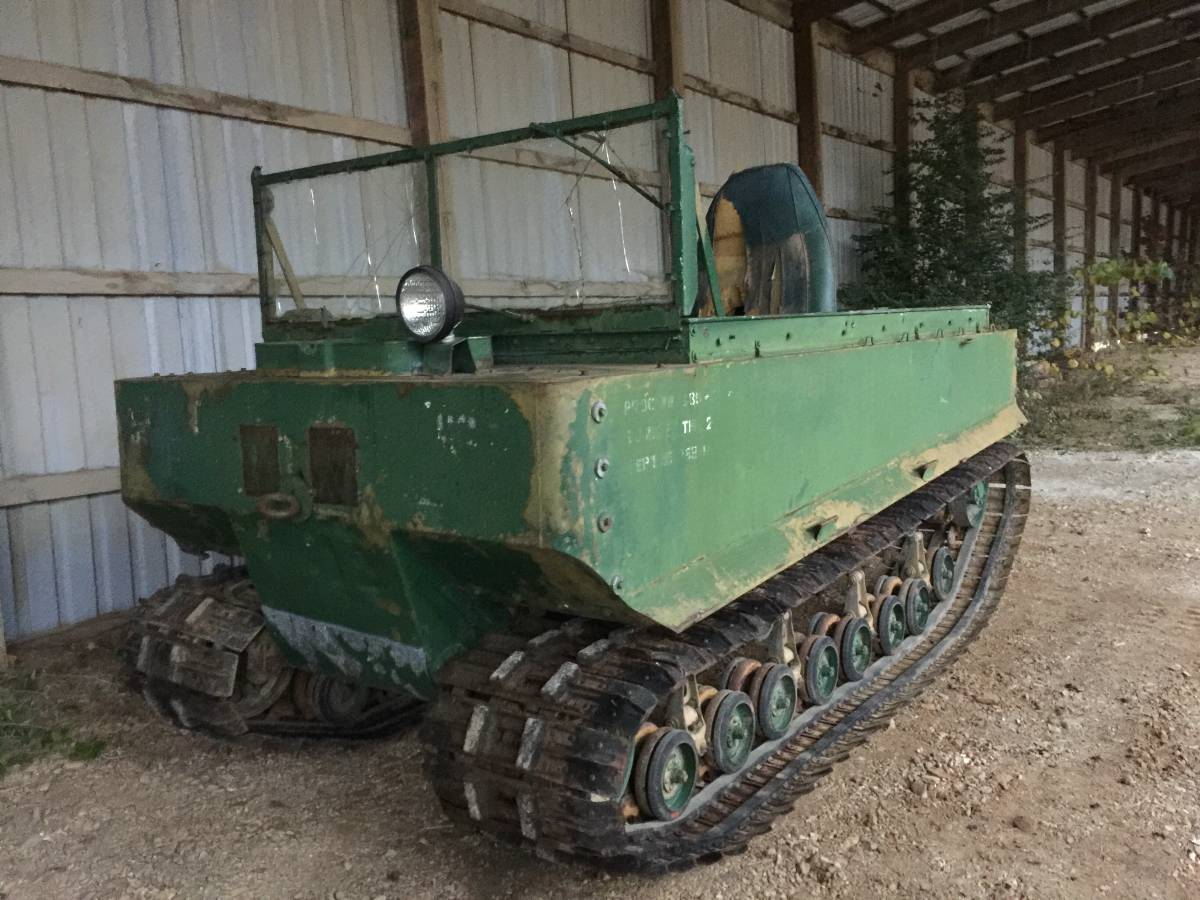 Daily turismo a what 1945 studebaker m29 weasel for Craigslist fayetteville farm and garden