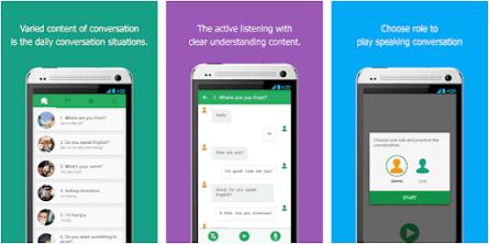 Aplikasi listen and speak english