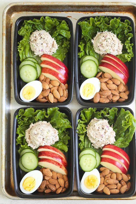 TUNA SALAD MEAL PREP #recipes #healthydinner #dinnerrecipes #healthydinnerrecipes #food #foodporn #healthy #yummy #instafood #foodie #delicious #dinner #breakfast #dessert #lunch #vegan #cake #eatclean #homemade #diet #healthyfood #cleaneating #foodstagram