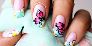 Tutorial Butterfly Nail