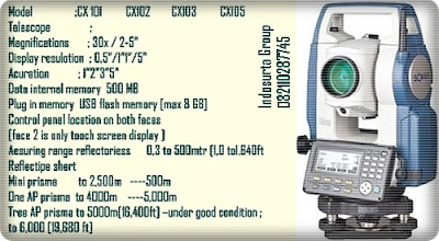 total station sokkia-cx103-105 Prodak PT INDOSURTA