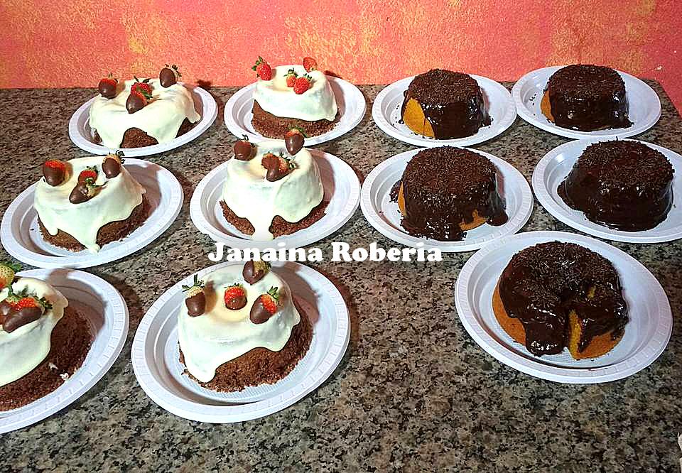 Bolo de Cenoura Mini Vulcão - Culinária-Receitas - Mauro Rebelo ddd9b922ca7