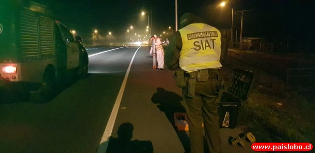 Fatal accidente en la Ruta Internacional 215