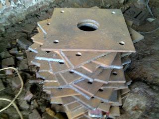 jual tiang pju oktagonal 9m sumatera selatan
