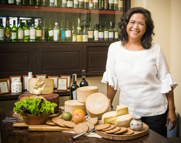 Olive Puentespina, the cheesemaker's life and style