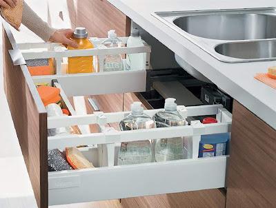 Với những gian bếp có diện tích khiêm tốn, bạn có thể tham khảo những bí quyết sau để tạo không gian nấu nướng gọn gàng, ngăn nắp.