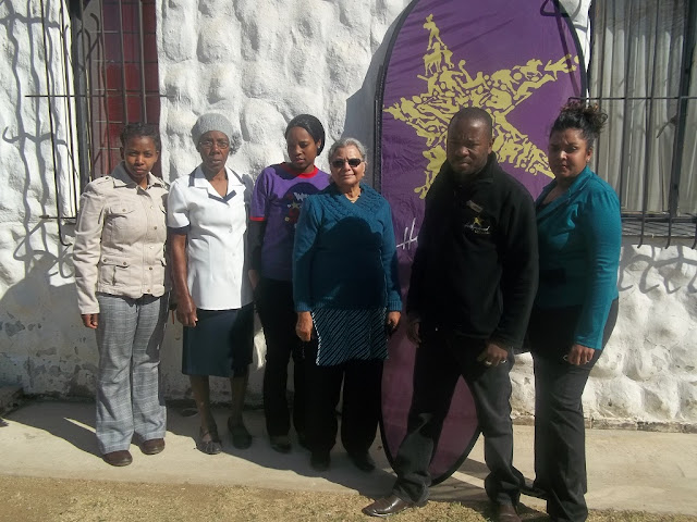 The Hollywoodbets Ladysmith team poses with the incredible staff from Victory Haven - Ladysmith Child Welfare