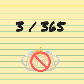 365 dagen bloggen: Geheelonthouding