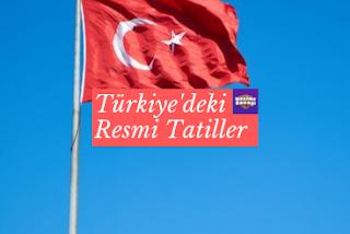 Türkiye'deki Resmi Tatiller
