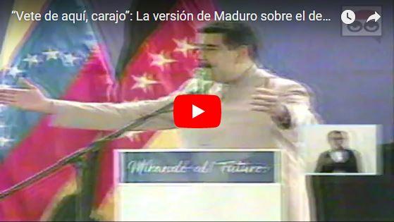 Maduro afirma que inauguró un conjunto de obras falsas