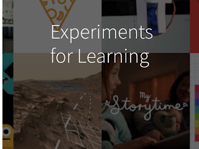 Experiments with Google Provides Inspirational EdTech Experiments to Use with Students in Class