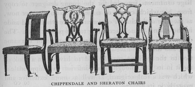 hepplewhite and sheraton chairs