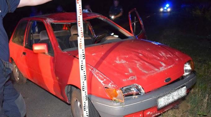 Részeg volt a sofőr, aki felborult az autójával Eresztvénynél