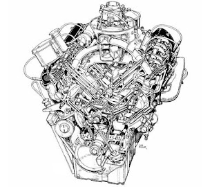 Automotive Database: BMW OHV V8 engine