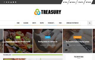 Treasury Responsive Blogger Template