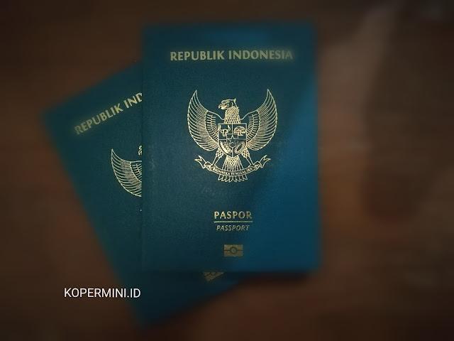 foto cover paspor indonesia