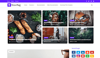 FlexBlog Blogger Template is a beautiful, powerful & flexible Blogger template