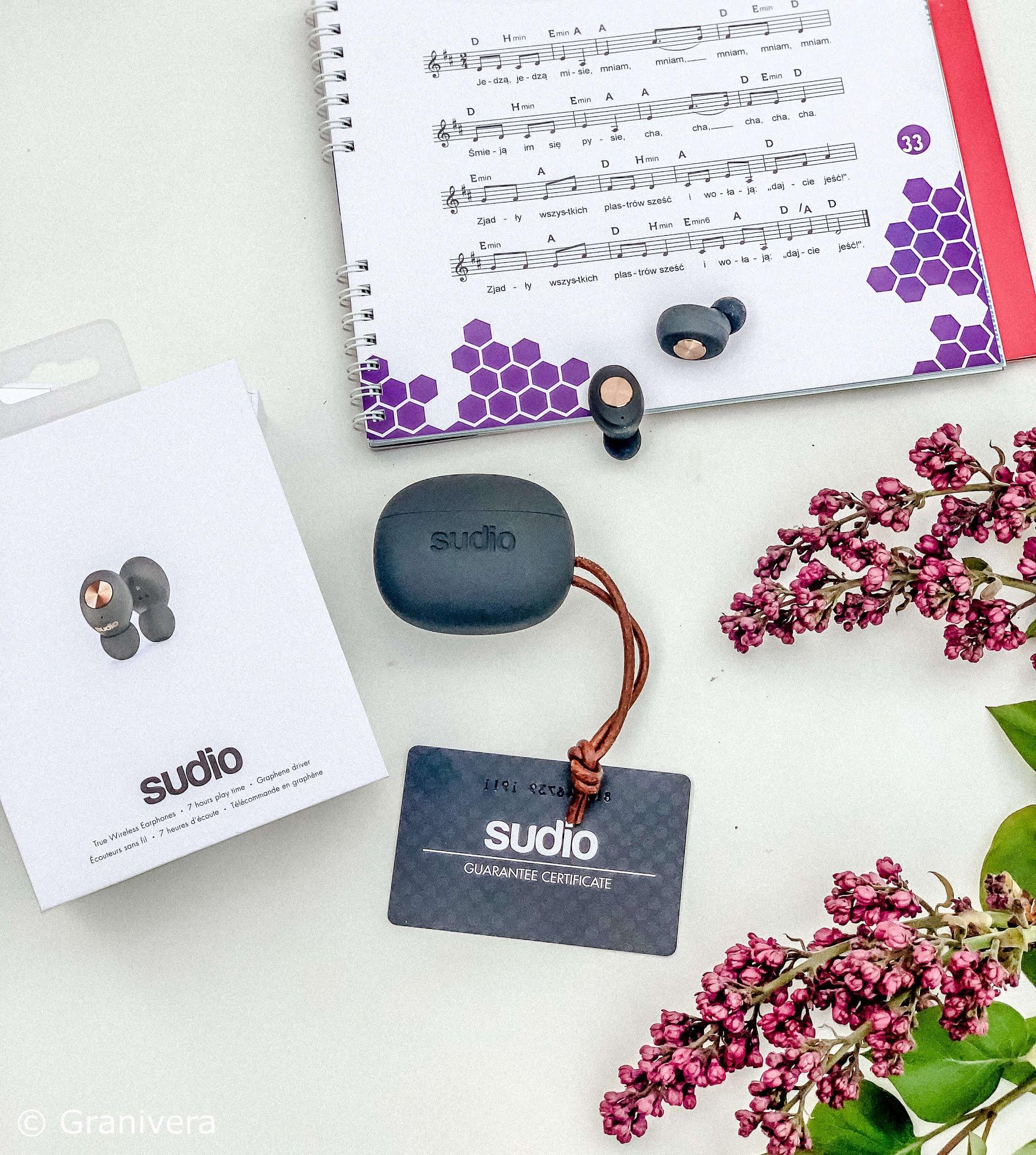 Sudio - słuchawki bezprzewodowe tolv