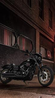 Harley Davidson Bike Mobile HD Wallpaper
