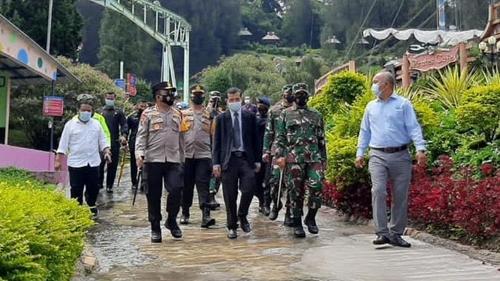 Pastikan Penerapan Prokes, Pangdam I/BB Bersama Kapoldasu Sidak Hotel dan Tempat Wisata di Kabupaten Karo