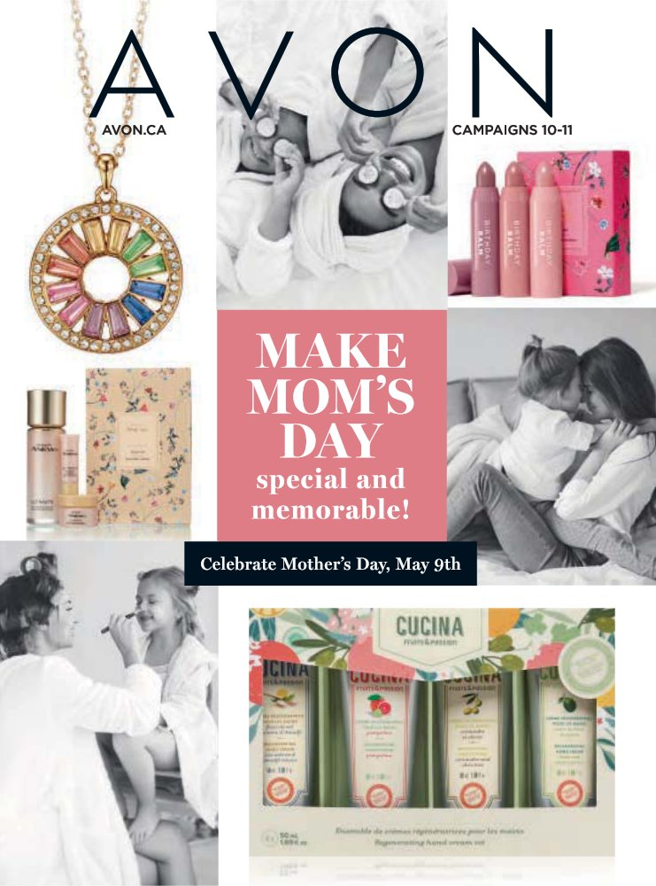 Makes Moms Day Special With Avon Gifts for her.