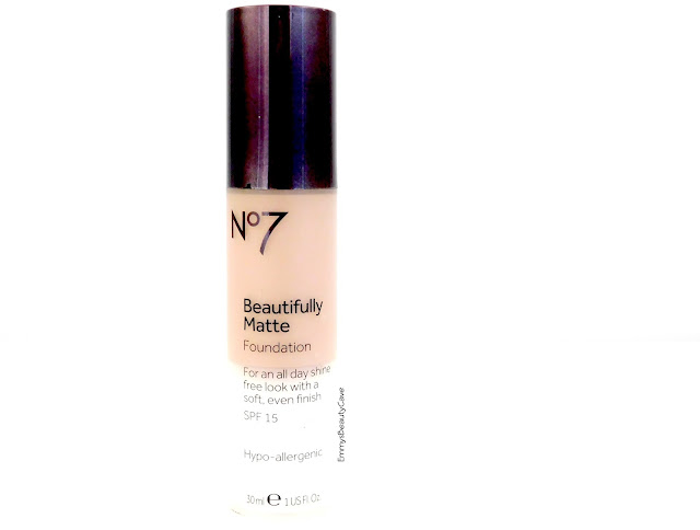 NO7 Beautifully Matte Foundation Beige Review