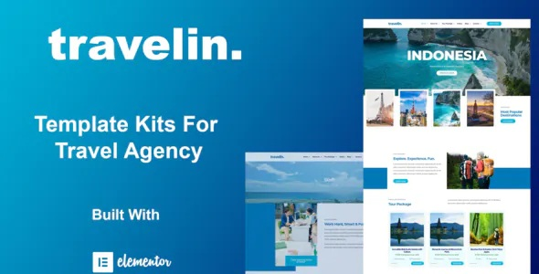 Best Travel Elementor Template Kit