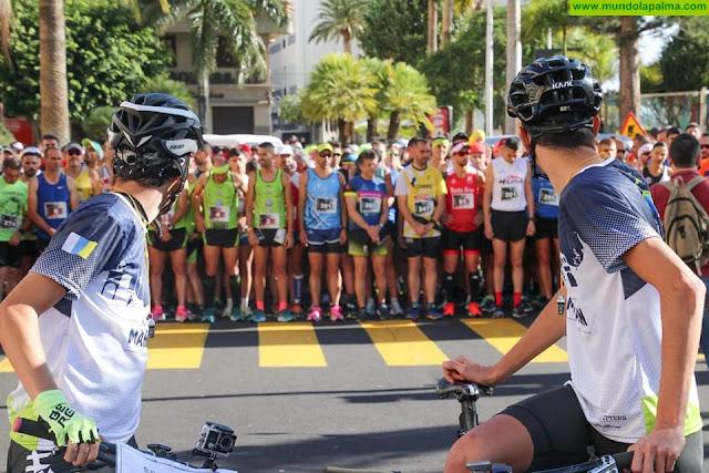 300 deportistas participaron en la III Media Maratón La Palma 2020