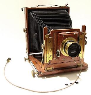 Kamera Pelat Kering Collodion
