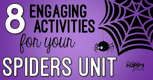 Spiders Ideas for Kindergarten and First Grade
