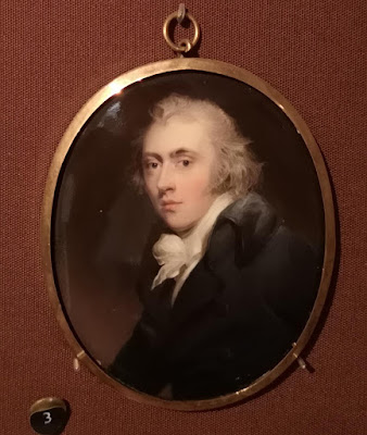 Miniature of Earl Grey in the Miniatures cabinet, Kenwood (2019)