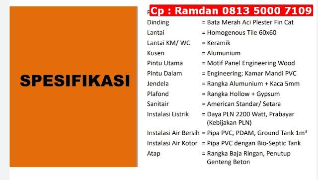 Jual Rumah Murah Karawang, FREE Kanopi, Lokasi Strategis, CP 0813 5000 7109
