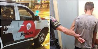 POLÍCIA MILITAR CAPTURA HOMEM EM REGISTRO-SP FORAGIDO DO CDP MONGAGUÁ