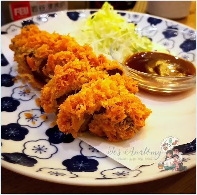 Beef Katsu from Izakaya Sensu BGC