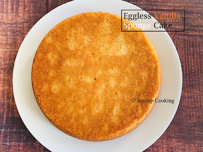 vanilla sponge cake