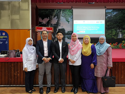 Kolaborasi Cikgu Korea di IPG Kampus Temenggung Ibrahim