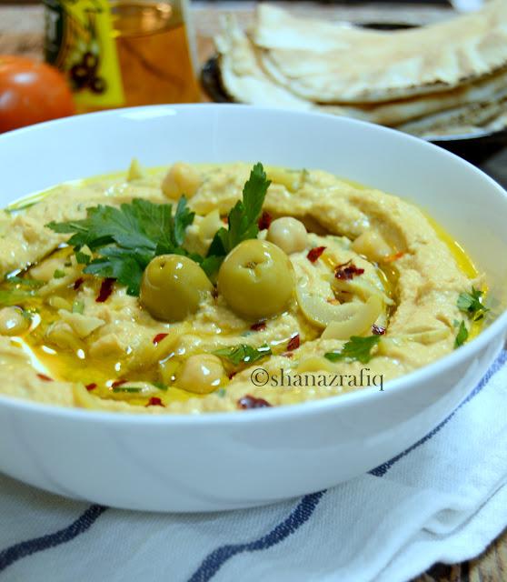 Green Olive Hummus