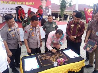 Bupati Batubara Resmikan Gedung RTP