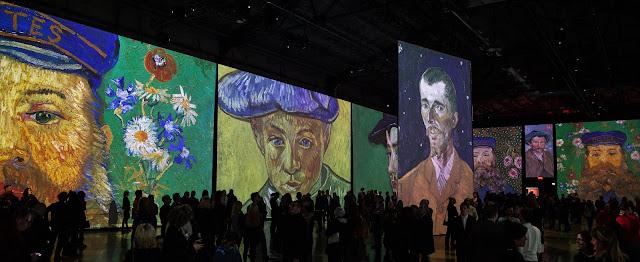 Exposition Imagine Van Gogh Québec Centre Congrès