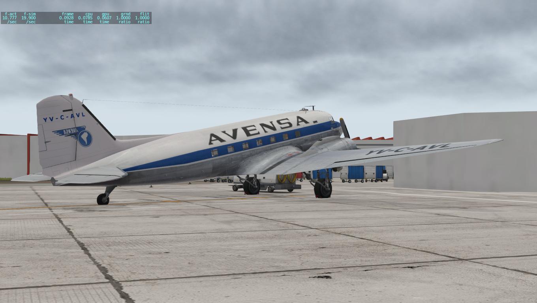 XProject Venezuela: DC-3 YV-C-AVL AVENSA