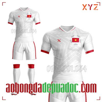 Áo Việt Nam 2020 Sân Khách Màu Trắng Đẹp Và Độc