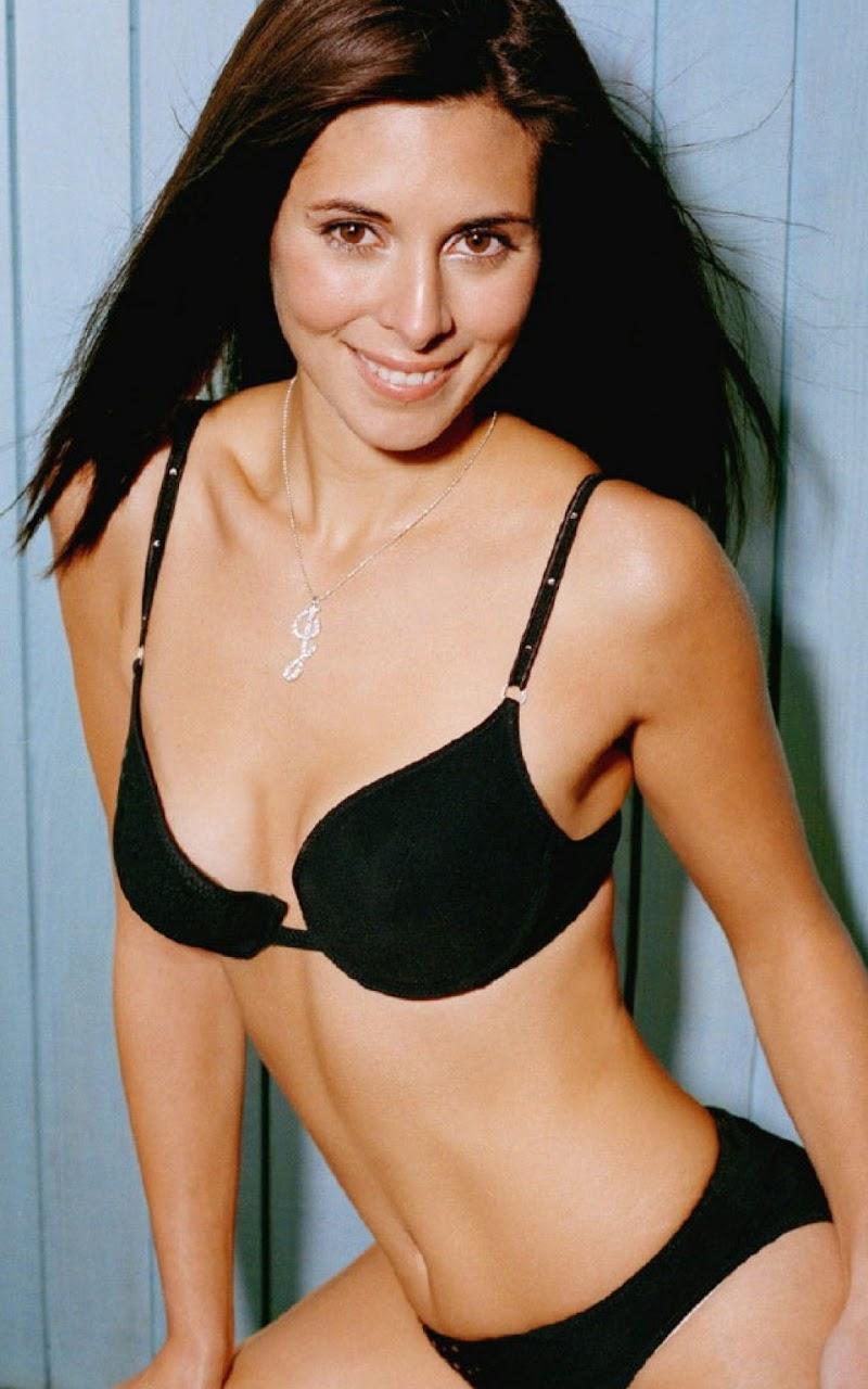 Galaxy Note HD Wallpapers: Jamie-Lynn Sigler Black Bikini ...