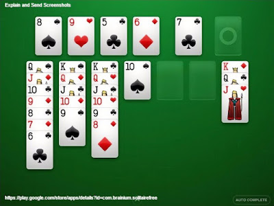 لعبة سوليتير - الكوتشينه - الورق Solitaire  الأندرويد apk