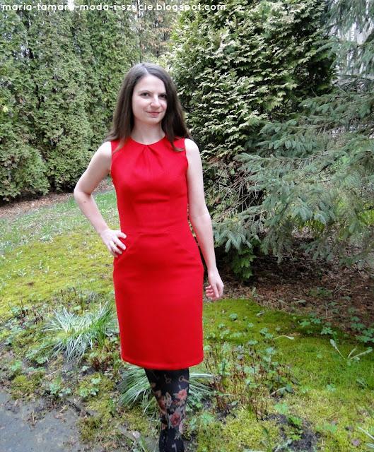 Czerwona sukienka na specjalne okazje